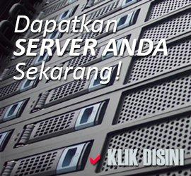 Berbagai pilihan server untuk kebutuhan Anda